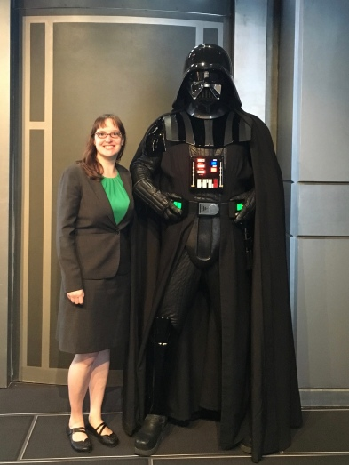 I may have been irrationally afraid to stand too close to Darth Vader.